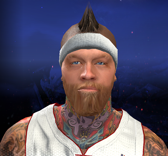 NBA 2K14 Chris Andersen Longer Beard Patch