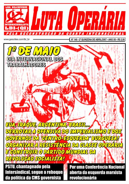 JORNAL LUTA OPERÁRIA Nº 146 - ABRIL 2007