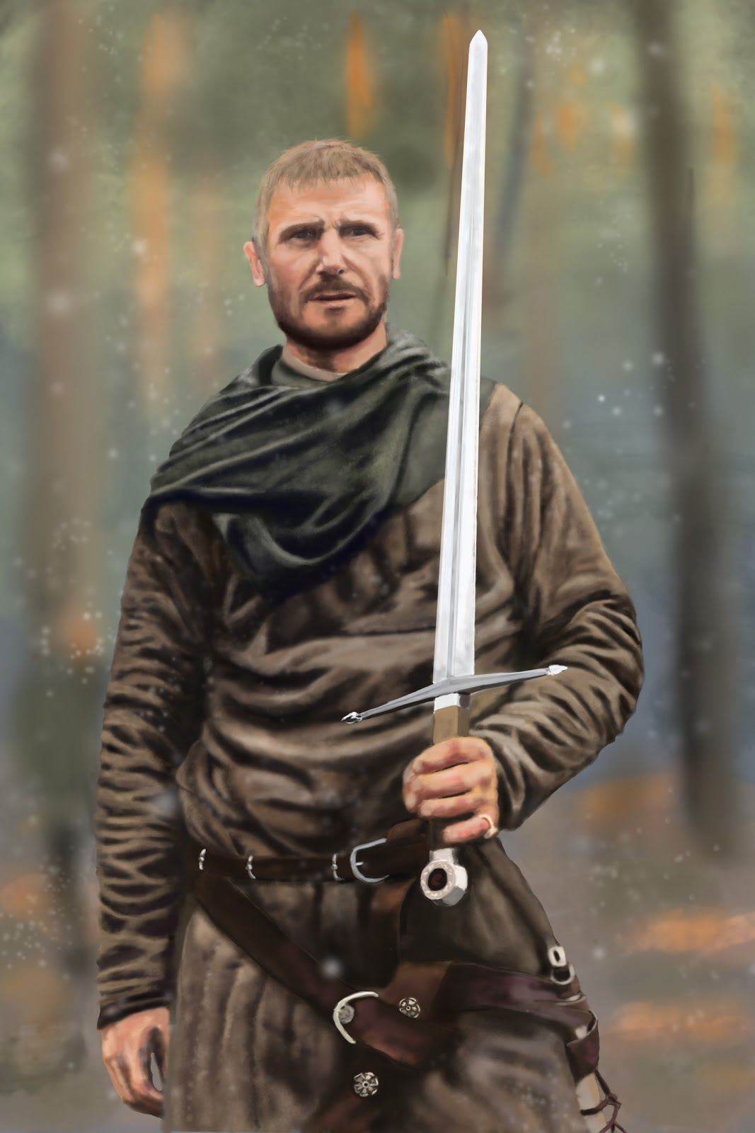 Kingdom of Heaven Liam Neeson Photoshop study