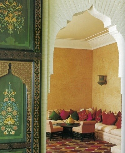 Eye for design decorating moroccan style elegant and - Moroccan living room ideas pinterest ...
