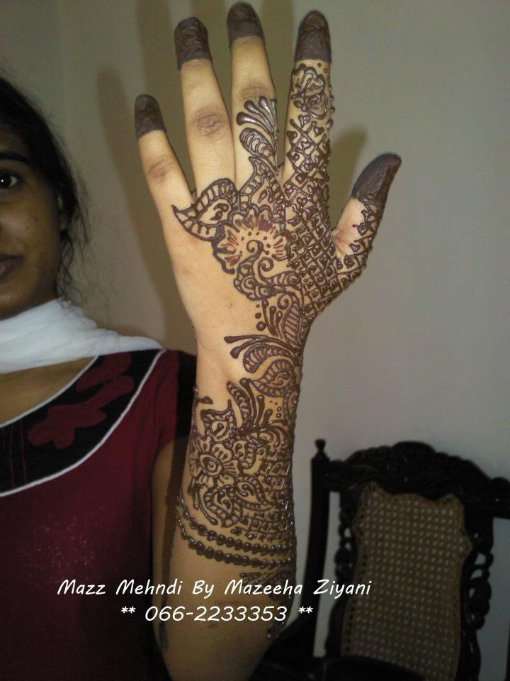 Mehndi Party : Mehndi designs for hands party