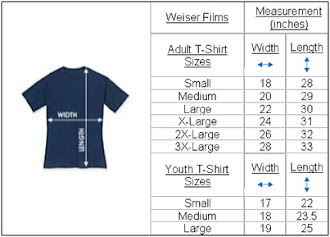 T-SHIRT MEASUREMENT