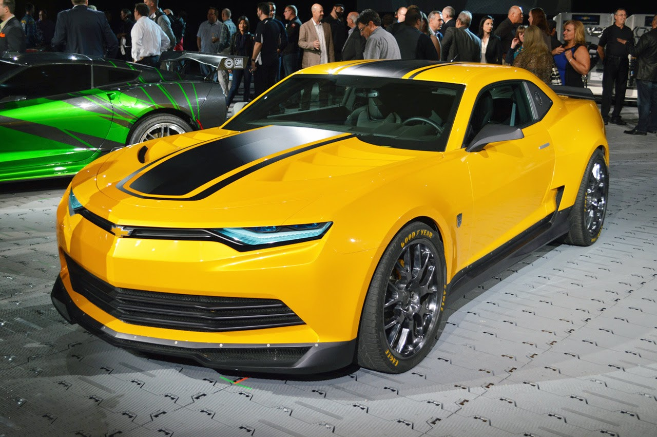 © Automotiveblogz: Transformers Bumblebee Camaro SEMA 2013 ...