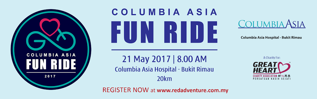 Columbia Asia Fun Ride 2017