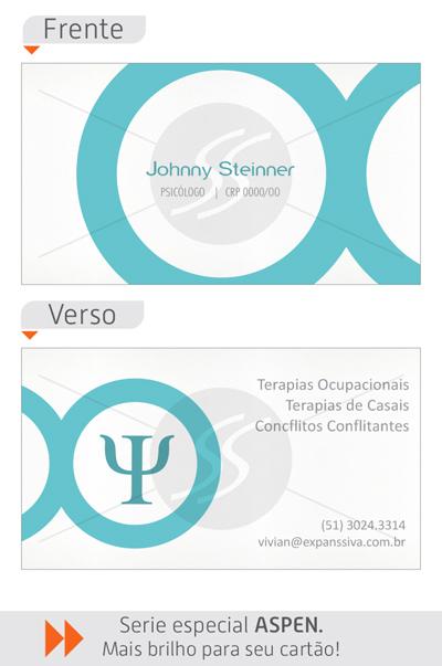 cartao psicologia - Cartões de Visita para Psicólogos