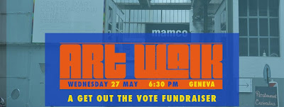 ART WALK: A Get Out the Vote Fundraiser