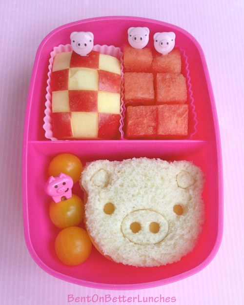 CuteZcute piggy bento in a Sassy box