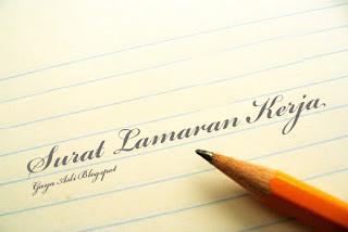 Surat Lamaran Kerja Bahasa Indonesia