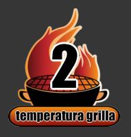 Temperatura grilla mierzona dłonią stopnie nagrzania grilla ruszt