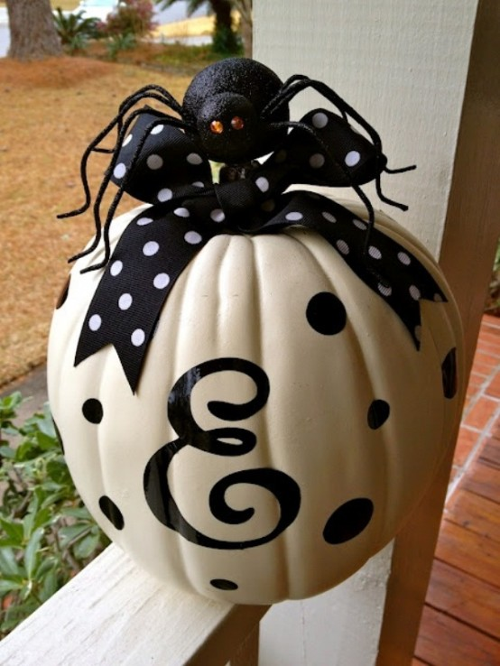 New furniture home 50 ideas para decoraci n de halloween - Decoracion en blanco y negro ...