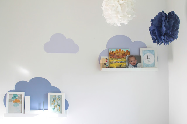 Limmaland Ribba Wolke Kinderzimmer Leseecke PomPoms Jungenzimmer