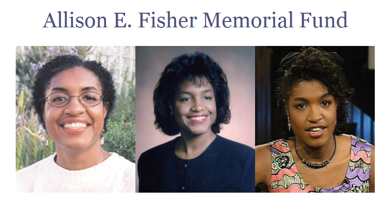 Allison E. Fisher Scholarship in Journalism