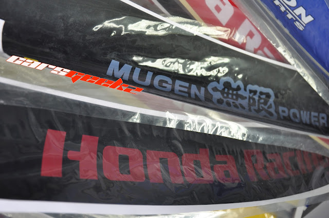 Honda Racing and Mugen Power windscreen