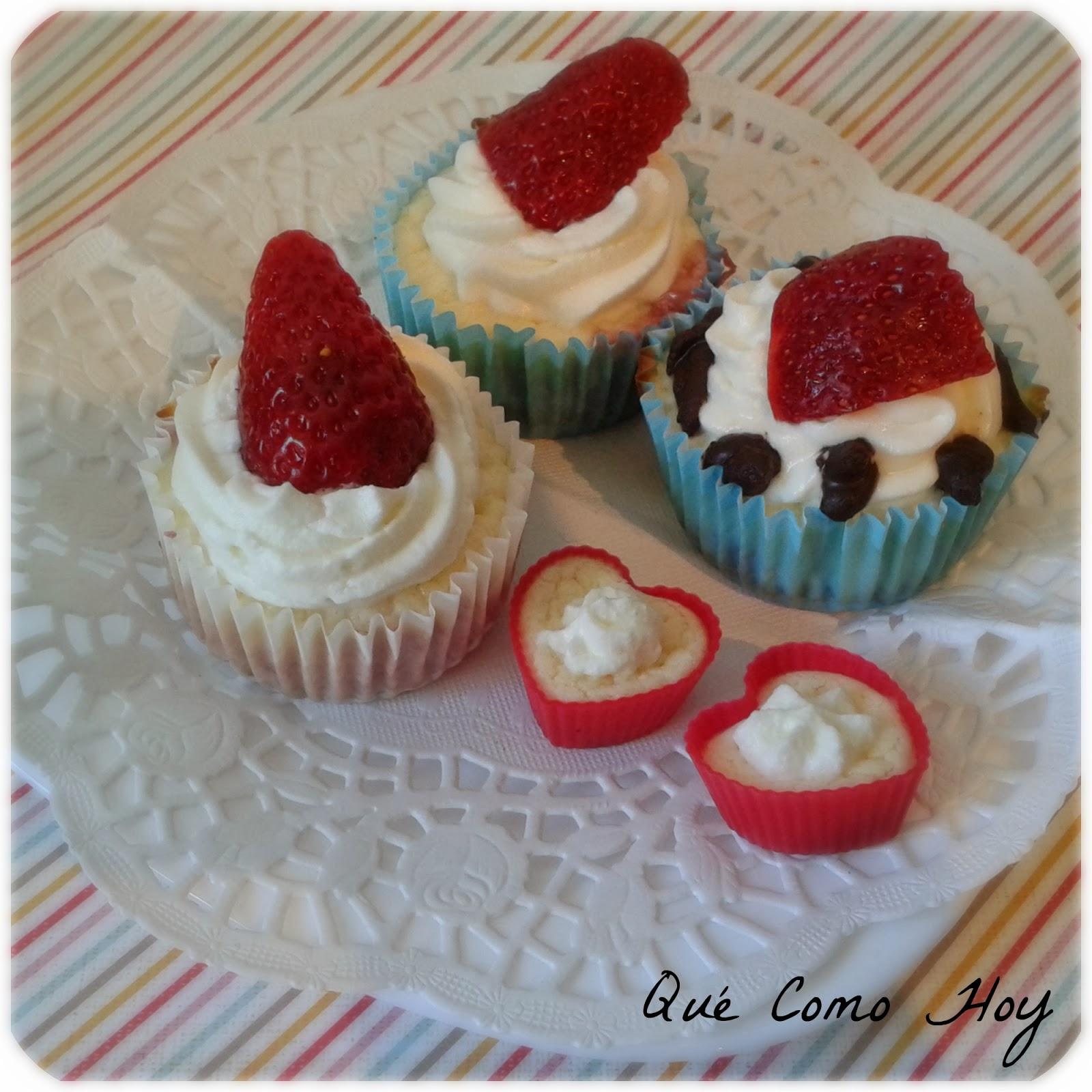 Cupcake de Tarta de Queso