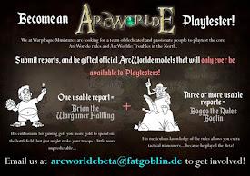 """""""Become An ArcWorlde Playtester!"""""""