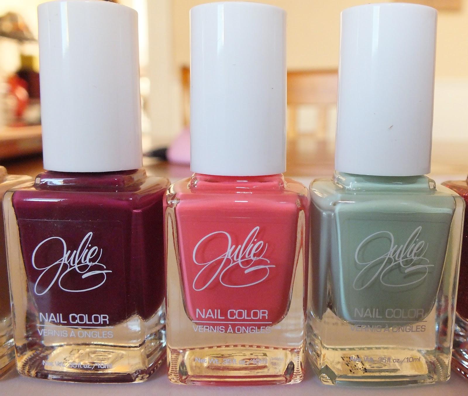 Julie G Nail Polish Line | My Pinktastic Life