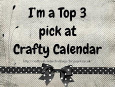Top 3 at Crafty Calendar!