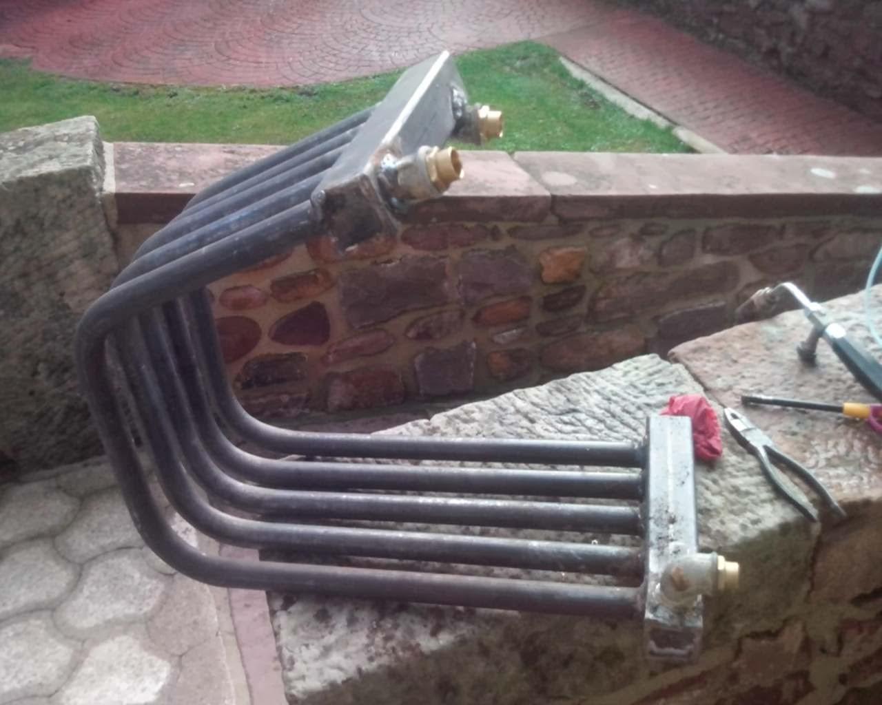 Tecnolog a para un progreso sostenible ejemplo de for Calderas de lena para radiadores de agua