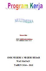 Program Kerja Multimedia