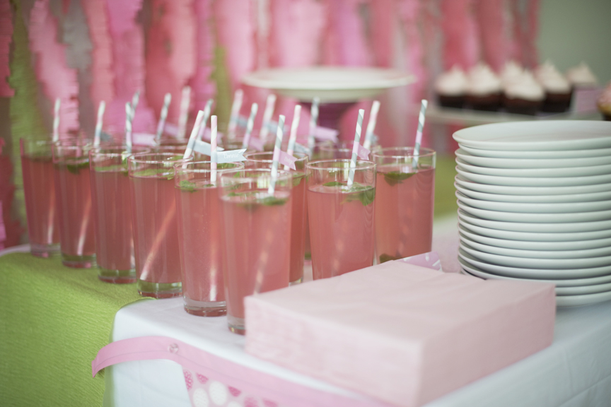 pink candy bar baby shower candy bar and cupcakes