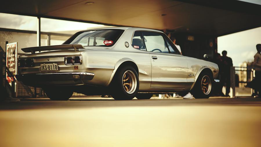 Nissan Skyline C10, kultowy, JDM, ponadczasowy, ikona, japoński, sportowy samochód, motoryzacja, japonia, klasyk, stary samochód, oldschool, z duszą, piękny, coupe, RWD, S20