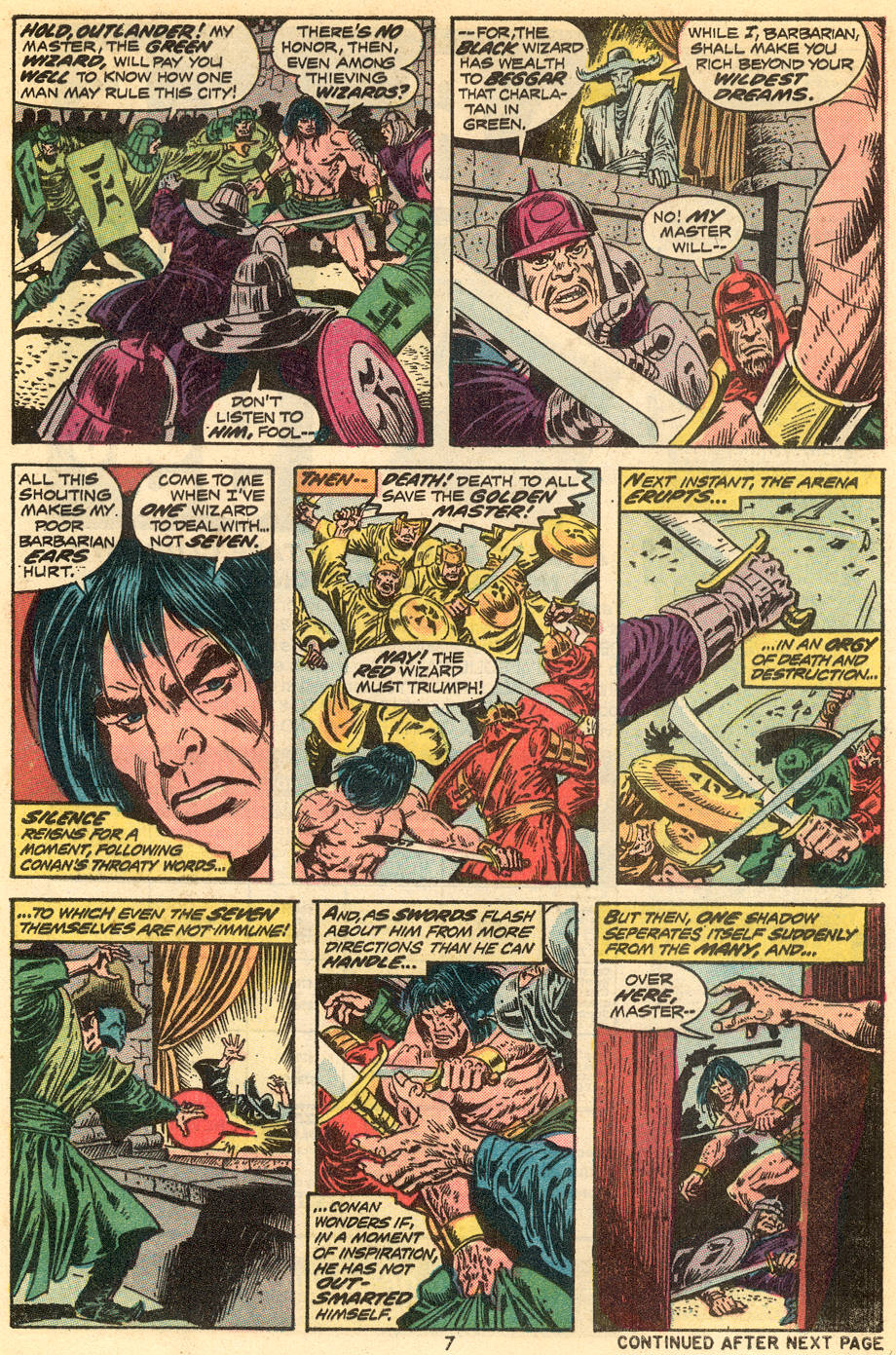 Conan the Barbarian (1970) Issue #34 #46 - English 6