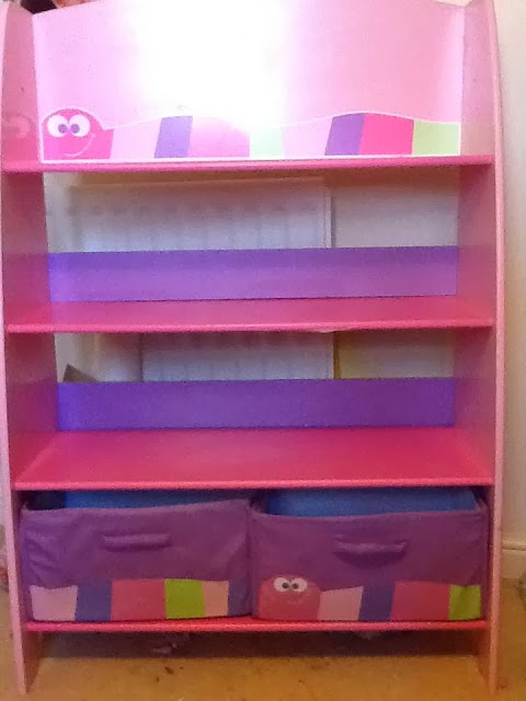 ELC pink bookcase