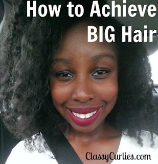 How to achieve big hair