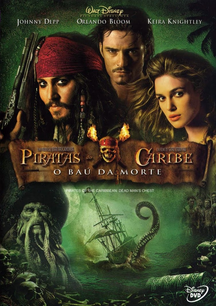Piratas do Caribe 2: O Baú da Morte – Dublado (2006)