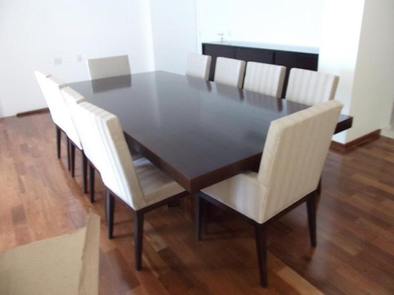 Sala De Jantar Madeira Macica ~  de Interiores  A5 decoravip Sala de Jantar de Madeira Maciça