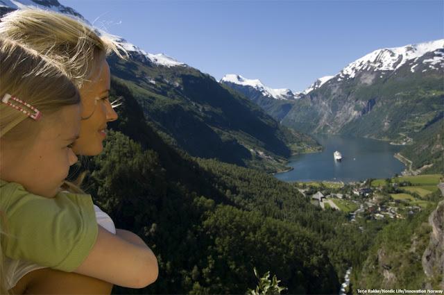 Fiordo de Geiranger - Noruega