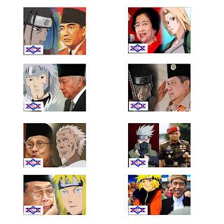 Persamaan Hokage Dengan President Indonesia