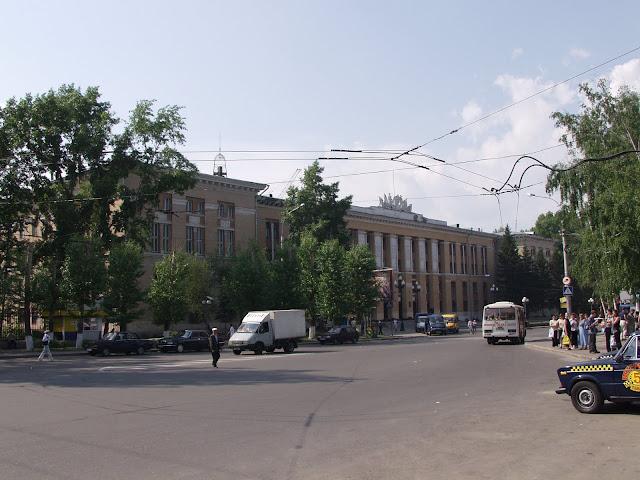 здесь начинается город Томск