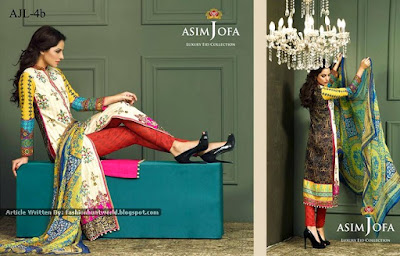 Asim Jofa Luxury Eid Collection 2015