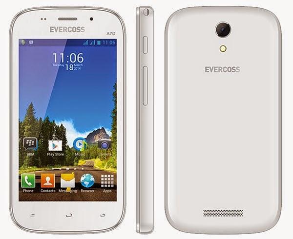 Spesifikasi dan harga Evercoss A7D Terbaru