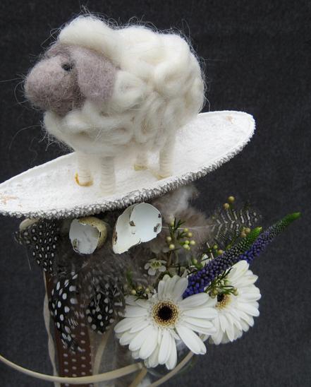 bloemschikken voorjaar pasen stafjes