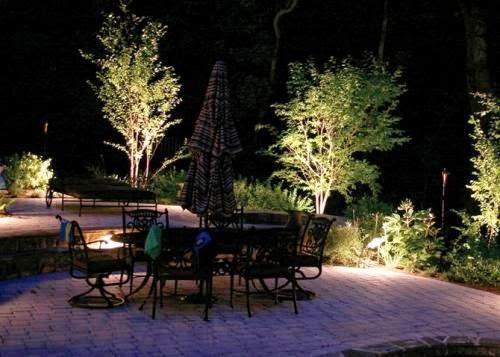the ways to arrange the lights in outdoor garden | Outdoor Furniture in Vietnam