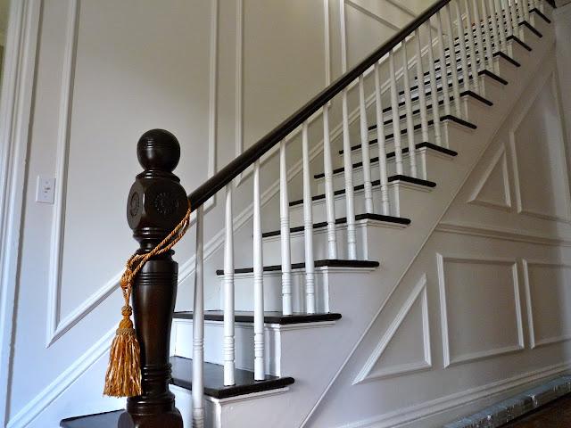 Foyer Stairs Jobs : Hazardous design a grand entrance foyer and hallway reveal