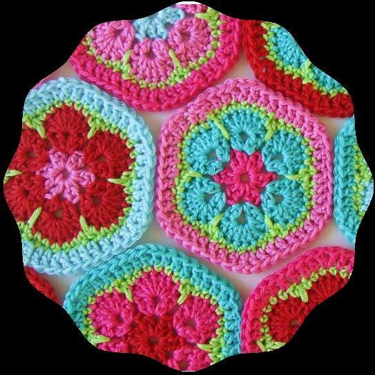 http://haakkamer7.blogspot.nl/2012/03/patroon-vrolijke-hexagons.html
