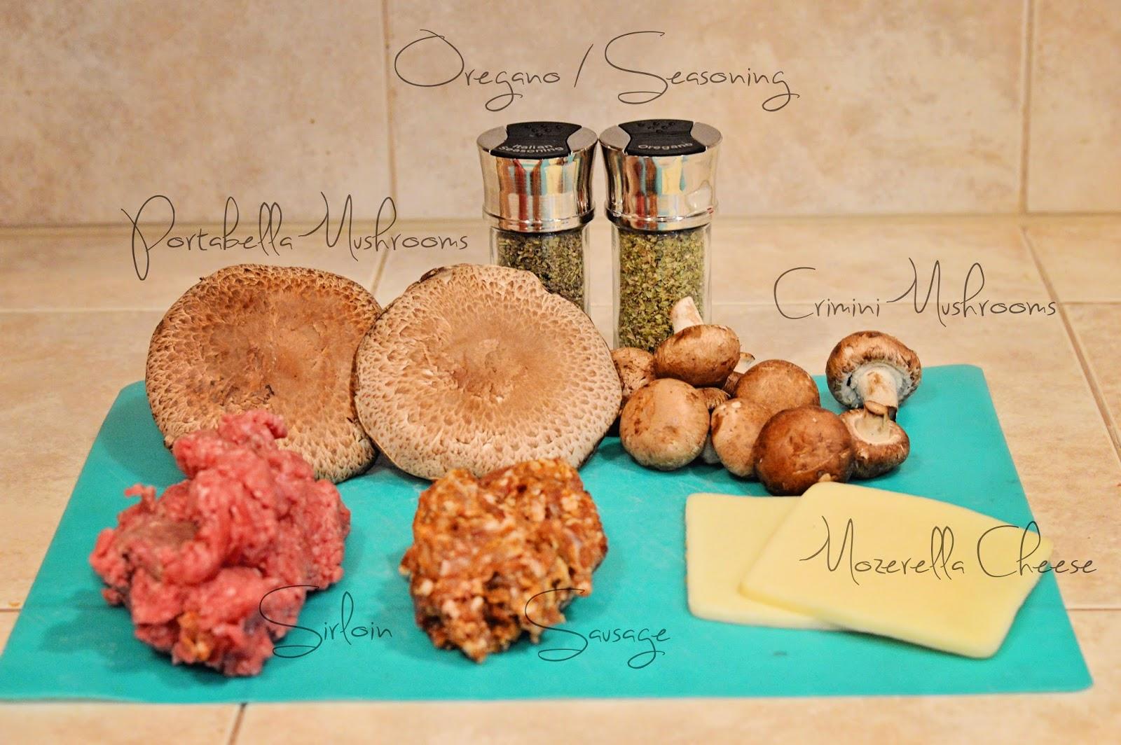 how to cook portobello mushrooms for burger buns