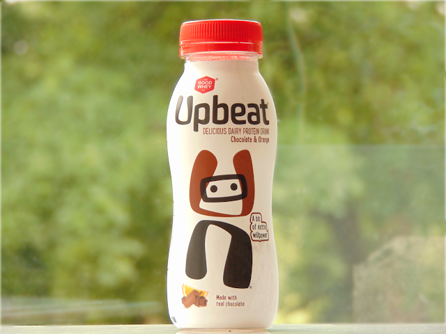 Upbeat Protein Drink in Chocolate and Orange Flavour