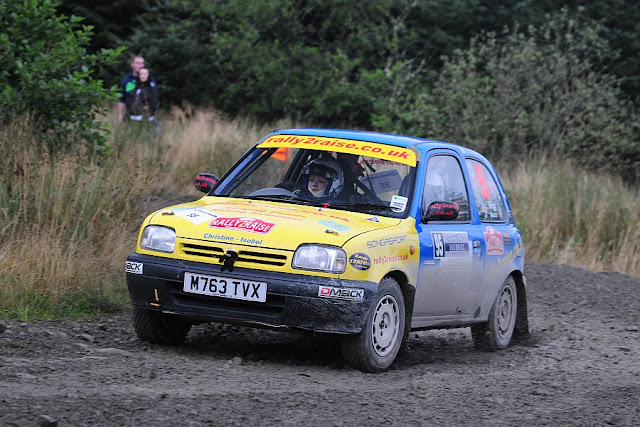 The Rally 2 Raise Nissan Micra in action