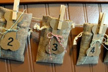 Reusable Handmade Dog Countdown Calendar by Our Mom's Touch