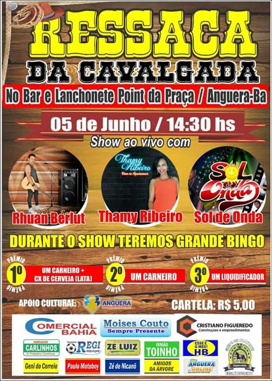 RESSACA DA CAVALGADA DOS PLAYBOYS - 05 DE JUNHO