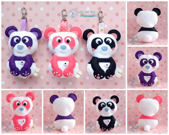 filc, felt, panda, pandka, pandy, pandziki, pandusie, brelok, breloczek, zawieszka, pendant, brelok z filcu, filcowy brelok, breloczek z filcu, filcowy breloczek, felt pendant, panda z filcu, pandka z filcu, filcowa panda, brelok panda, breloczek panda, felt panda, panda handmade, prezent filc, filcowy prezent, felt gift, handmade gift hand made gift, prezent hand made, prezent handmade, prezent ręcznie robiony