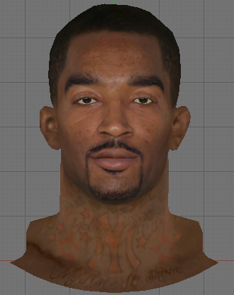 NBA 2K14 JR Smith Face Mod