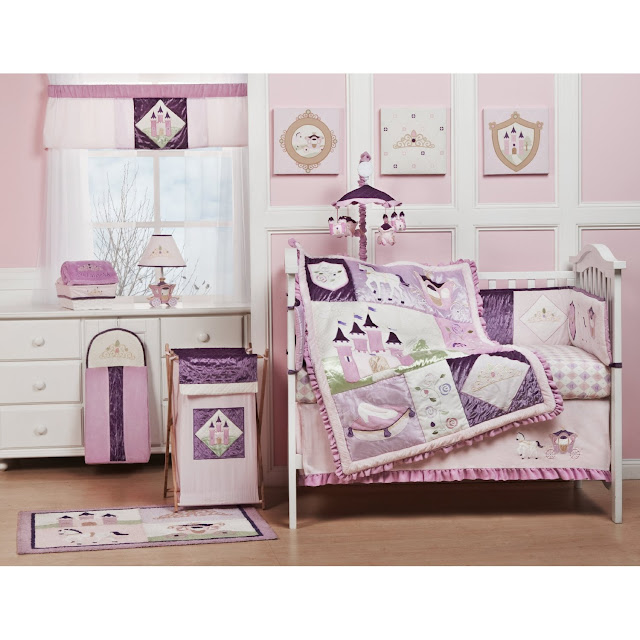 Pink Fairy Crib Bedding Sets For Your Princess