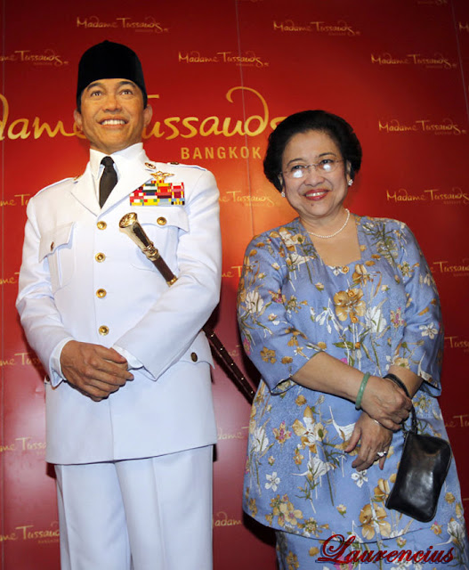 Patung-lilin-Bung-Karno-di-Museum-Lilin-Madame-Tussauds-di Bangkok_3