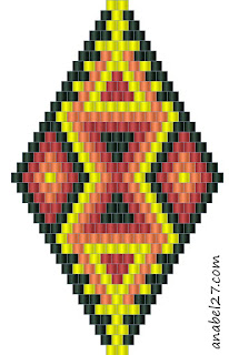 free peyote beading patterns beadweaving beadwork earrings