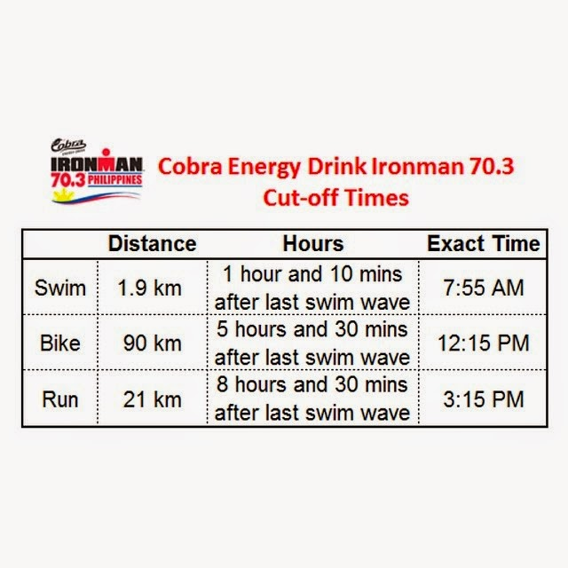 Cobra+Ironman+70.3+Philippines-2014-Time